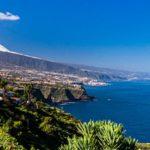 Monte Teide y costa norte de Tenerife
