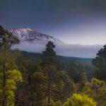 Blick auf Teide aus den Bergen im Norden Teneriffas