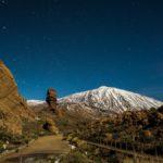 Noche estrellada en el Teide