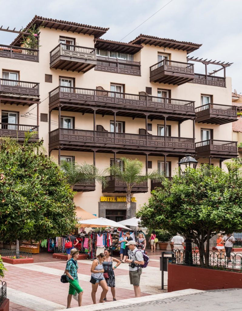 Fachada del Hotel Monopol Tenerife