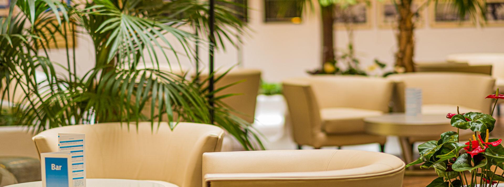 Zentraler Innenhof des Monopolhotels Tenerife
